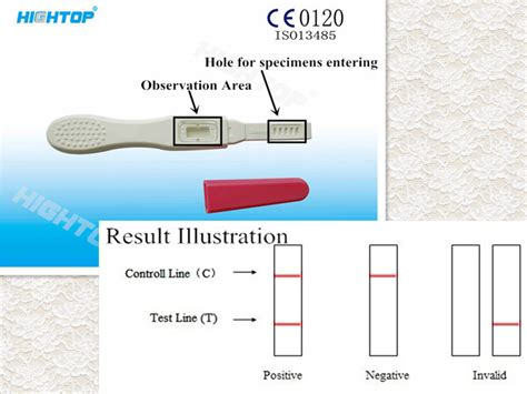 high accurate  step cassette urine pregnancy test early