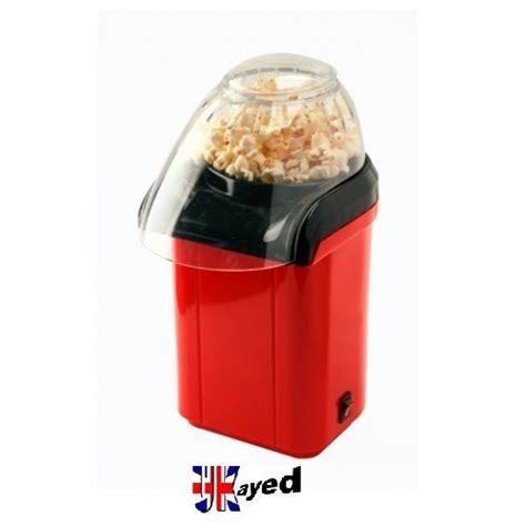 Homgeek 1200w Mini Household Healthy Air Free Popcorn Maker ukayed 174 mini power popcorn maker 1200w healthier popcorn bags popping corn kitchen