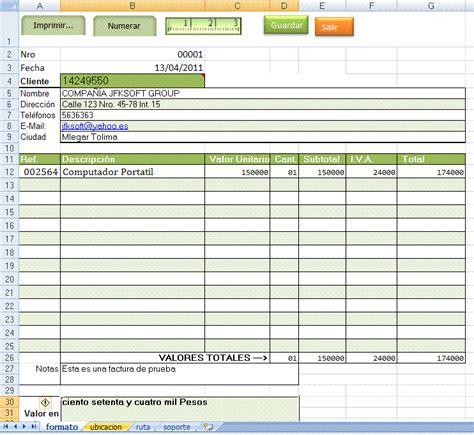 formato de facturas en excel mexico imprimir formatos preimpresos con excel