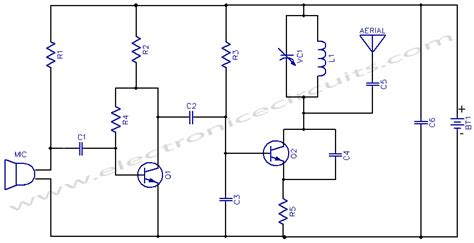 fm transmitter receiver circuit diagram fm transceiver circuit diagram