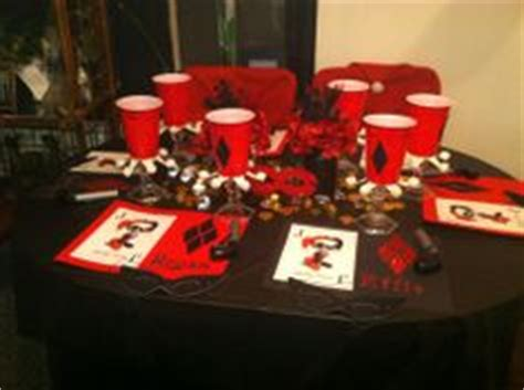 harley quinn themed birthday party 1000 images about daughters 18 birthday ideas on