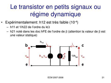 li transistor ou le ppt 201 lectronique analogique 1a powerpoint presentation id 600874