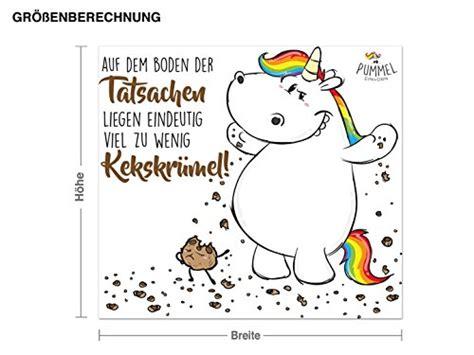 Autoaufkleber Pummeleinhorn by Wandtattoo Pummeleinhorn Zu Wenig Kekskrmel 0 1 187 Einhorn Love