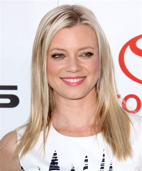 hairstyles smart casual amy smart long straight casual hairstyle light blonde