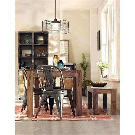 Home Decorative Collection by Home Decorators Collection Edmund Smoke Grey Wood Dining