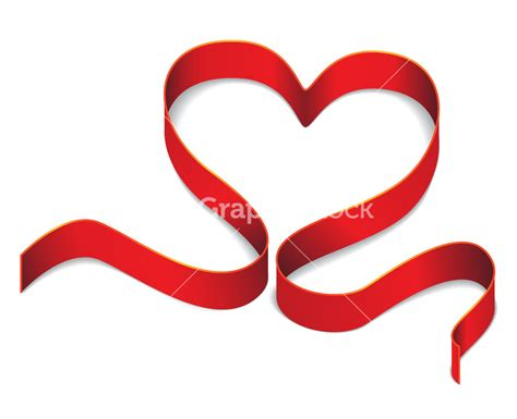 valentines day ribbon vector s day background with made of ribbon