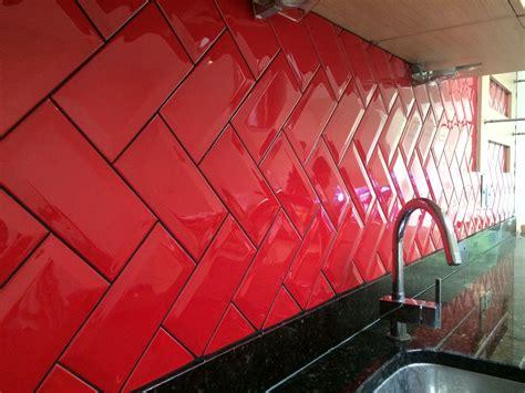 piastrelle rosse piastrelle rosse per cucina gallery of piastrelle per