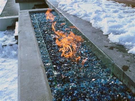 Custom Outdoor Fire Pits From Vancouver Gas Fireplaces Linear Pit