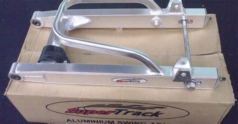 Peredam Getaran Motor Ukuran No 1 8 modifikasi honda supra x menggunakan swing arm racing