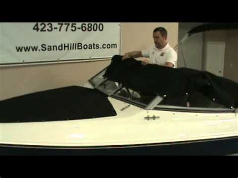 how to install a boat cover how to install the mooring cover on a stingray boat