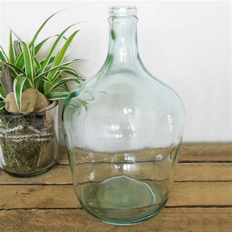Glass Bottle Vases by Recycled Glass Bottle Vase By The Den Now
