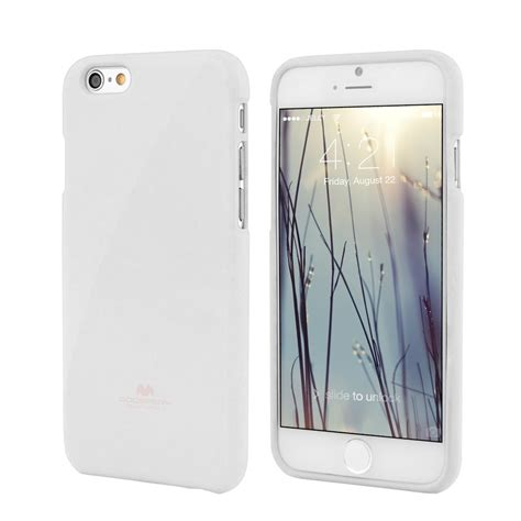 Jelly For 9 7 Premium Casing Original apple iphone 6 4 7 quot premium jelly white by goospery