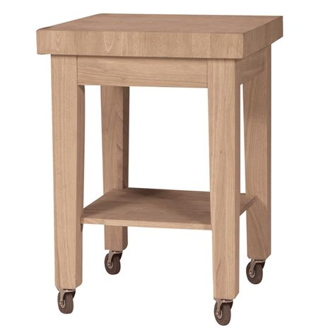 Kitchen Center Islands by Small Butcher Block Rolling Kitchen Cart