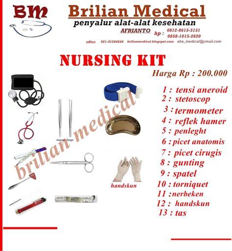 Alat Kesehatan Nursing Kit