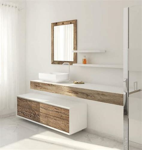 Wood Bathroom Furniture Beautiful Weathered Wood Bathroom Furniture