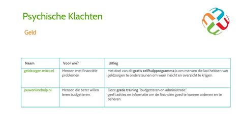 Inzicht In Financi 235 N applicaties en websites ter onde simplebooklet