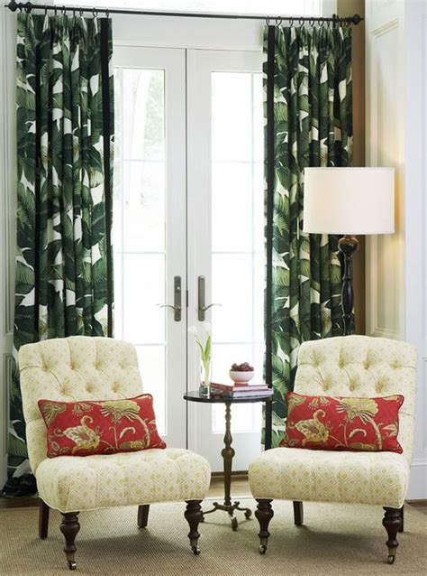 palm curtains swaying palms calico corners palm curtains pretty dark