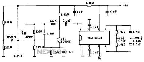 an integrated light circuit gt light laser led gt infrared gt infrared receiver circuit l57909 next gr