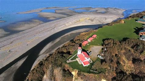 ninilchik alaska beach drone flight youtube