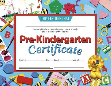 certificates pre kindergarten 30 pk 8 5 x 11 inkjet laser