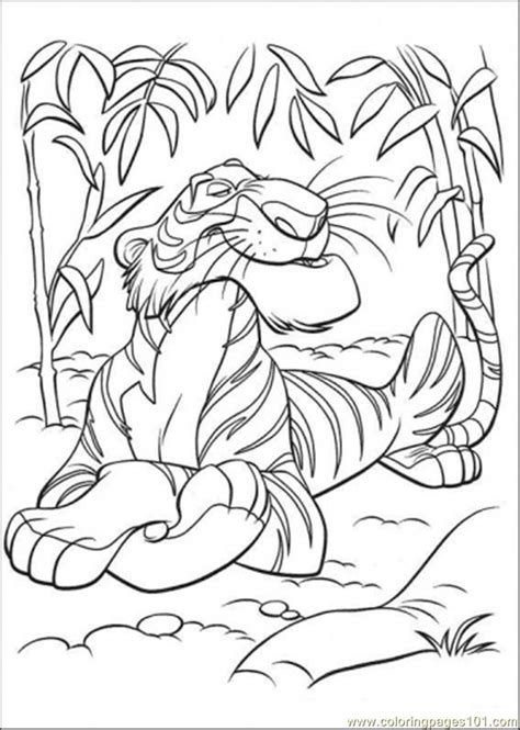 coloring pages of jungle book jungle book coloring page az coloring pages