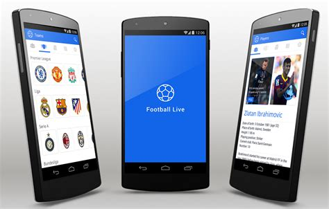 templates for android free football live android app template