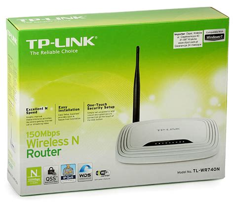 Wireless Router Tp Link Tl Wr740n router wireless n tp link tl wr740n 150mbps 4xlan 1xwan bocris