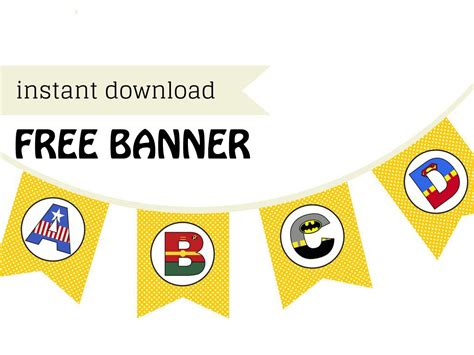 Free Printable Banners For Baby Shower by Free Printable Banner Magical Printable
