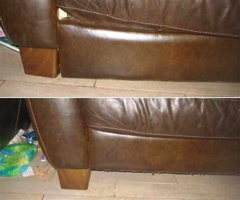 Leather Sofa Sagging Sofa Cushion Replacement You Thesofa Leather Sofa Sagging