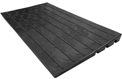 amazoncom ez access rubber threshold ramp beveled