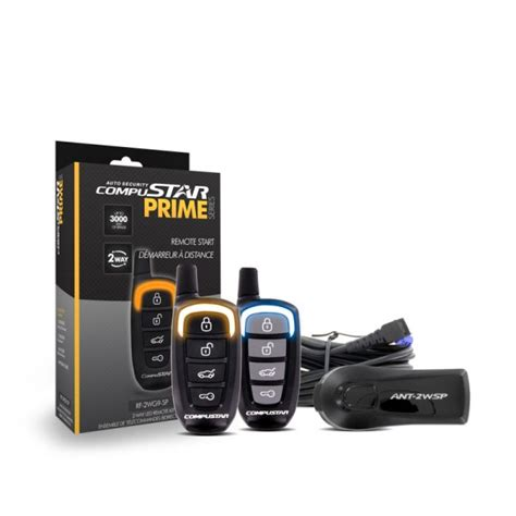Prime G9 2 Way Remote Car Starters Compustar