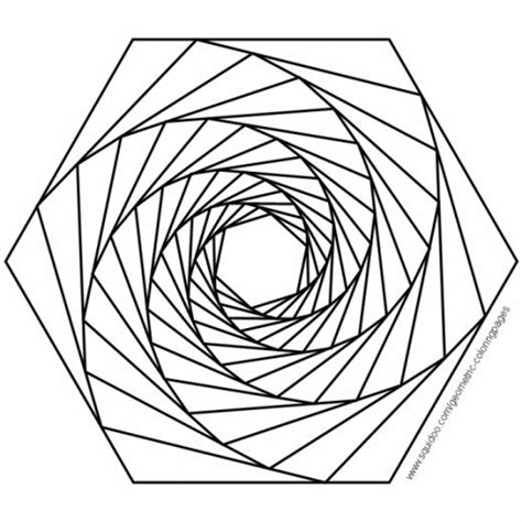 3d coloring pages free coloring pages of 3d geometric designs