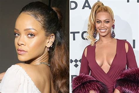 beyonce skin color beyonce rihanna lightened their skin accused of