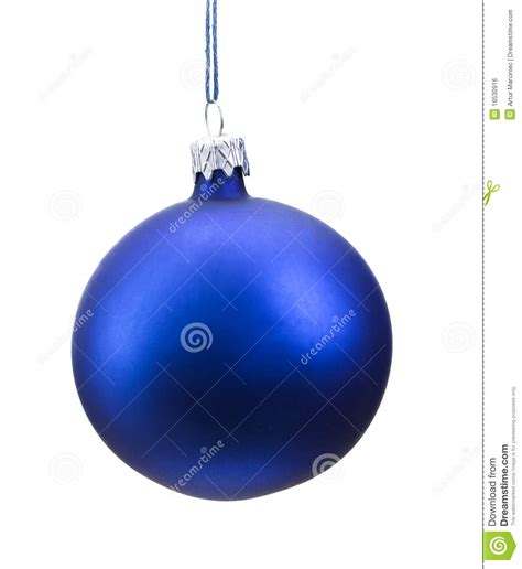 royalty free stock image blue christmas bauble isolated