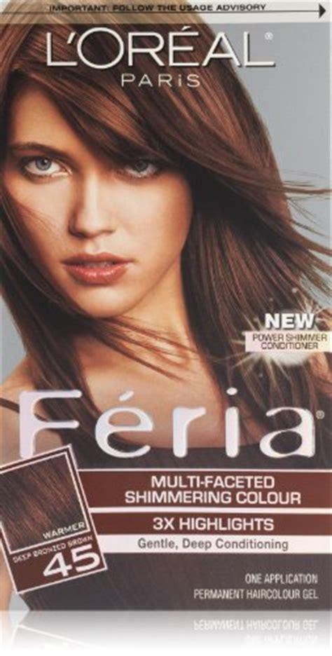 feria 51 bronzed brown photos hair on people l oreal paris feria hair color 45 deep bronzed brown