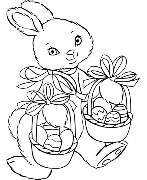 girl bunny coloring pages preschool easter bunny coloring pages coloring part 2