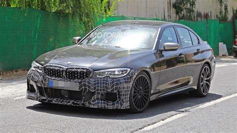 bmw alpina  biturbo spy shots