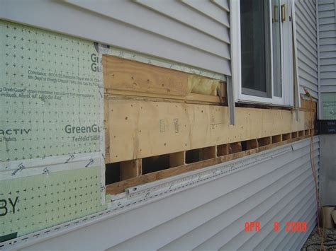 Tips On Removing Vinyl Siding For Attaching Ledger Board