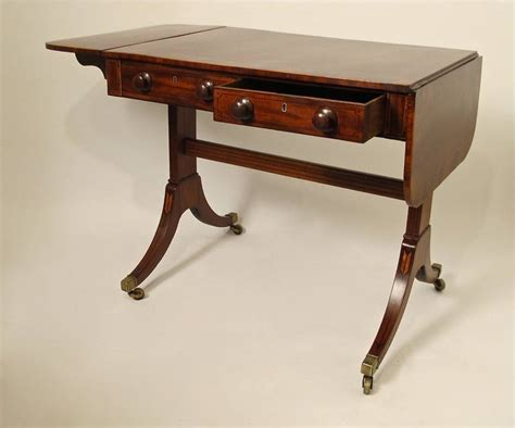 sofa c table 19th c english regency sofa table at 1stdibs