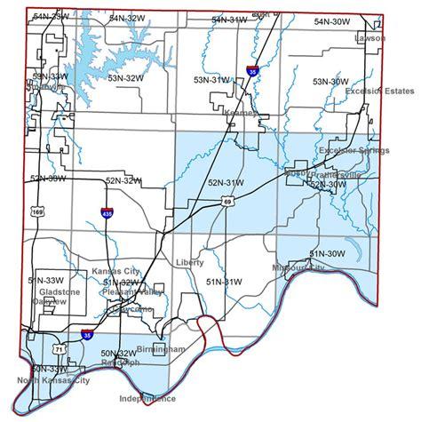 missouri map clay county missouri geological survey