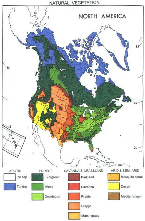 vegetation map of america social studies livebinder