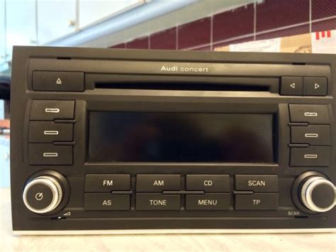 Audi Concert 2 Mp3 by Audi Concert 2 A4 B7 2007 Headunit Mp3 For Sale In