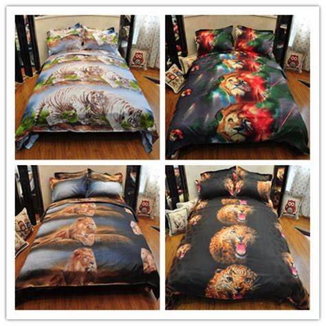 3d bedding wholesale wholesale promation 3d animals bedding set pastoral cheap