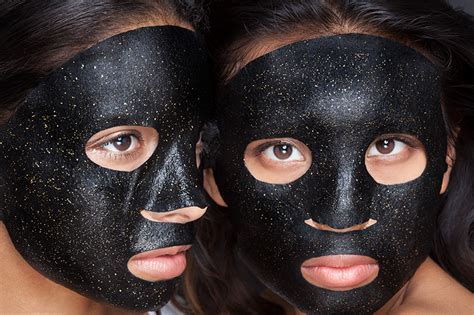 Masker Charcoal 24k gold hydrating black charcoal mask zeroskin