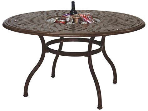 Darlee Outdoor Living Series 60 Cast Aluminum 52 Round 52 Dining Table