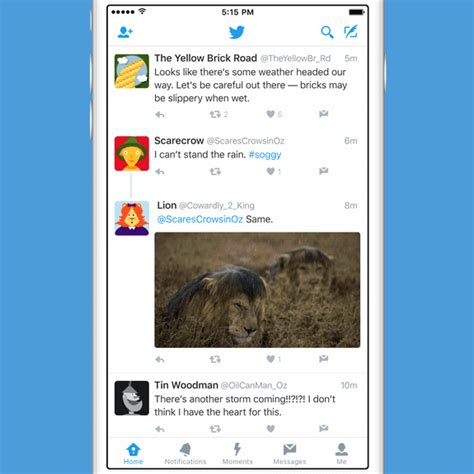twitter layout ios twitter s new connect tab wants to help you find people to