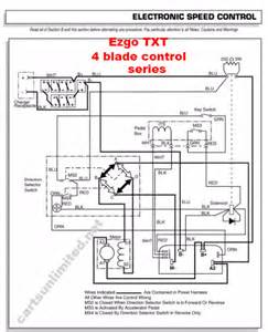 ezgo pds 36v battery wiring diagram