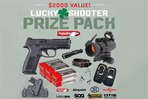 Lucky Contests Sweepstakes - aguila ammunition lucky shooter sweepstakes recoil