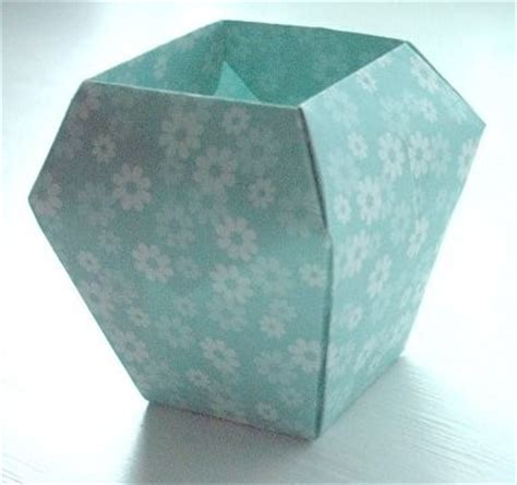 Origami Paper Vase - origami vase