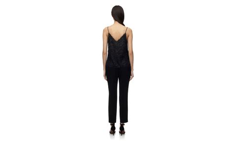 Cecil Sweet Sw cecil sparkle textured cami black whistles